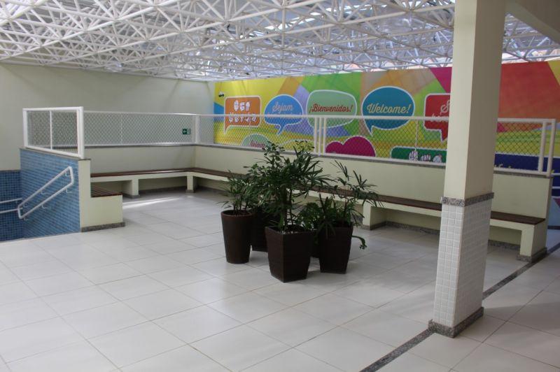 Área de espera Bloco da Educação Infantil