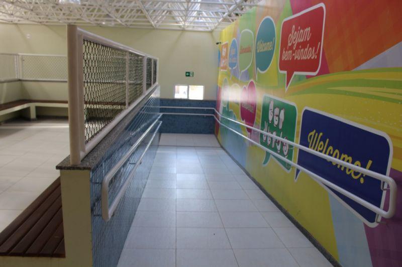 7 - Rampa de acesso ao Bloco da Educação Infantil